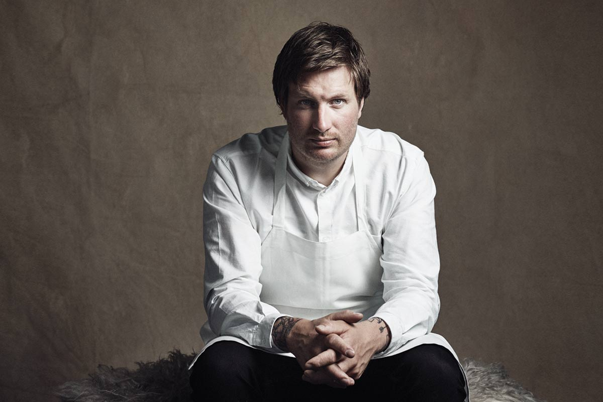 Maaemo's executive chef, Esben Holmboe Bang