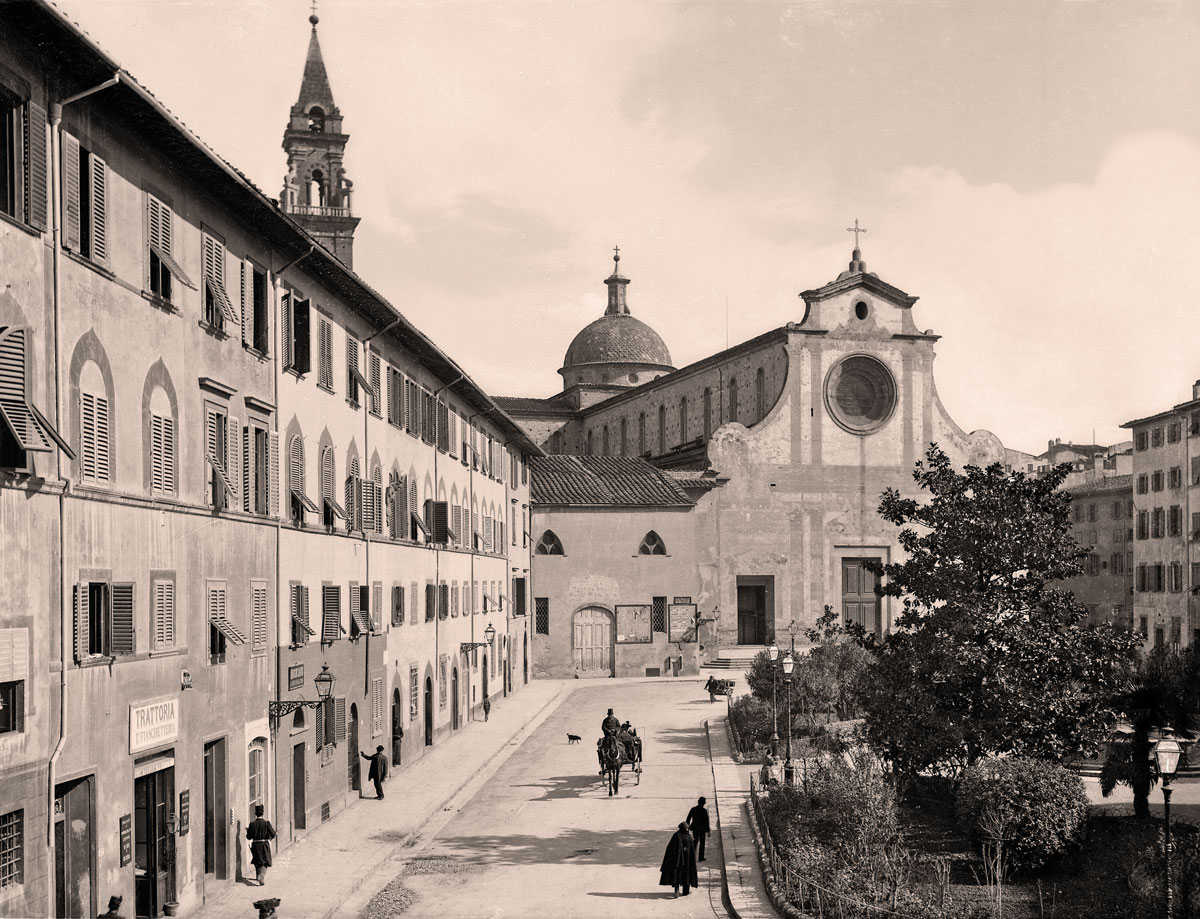 The historic centre of Florence, Italy, where the Savio Firmino workshop opened in 1941