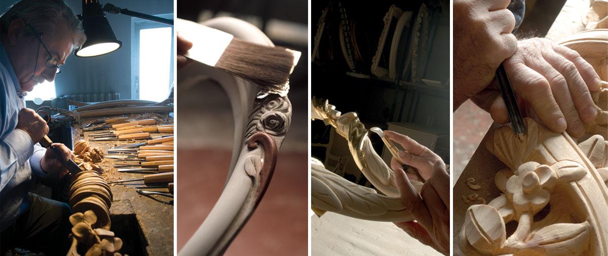 Master furniture-maker Guido Savio