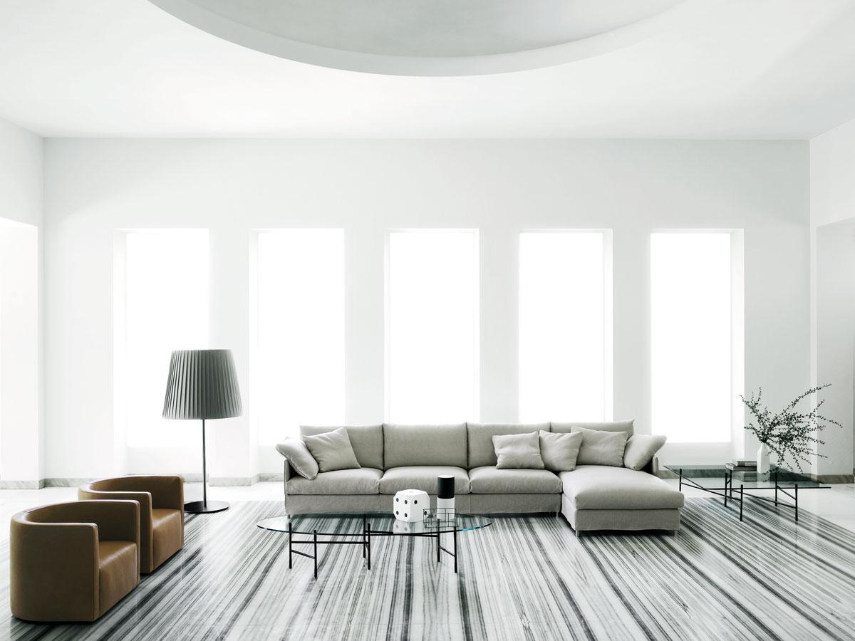 Living Divani's hallmark sofa by Piero Lissoni