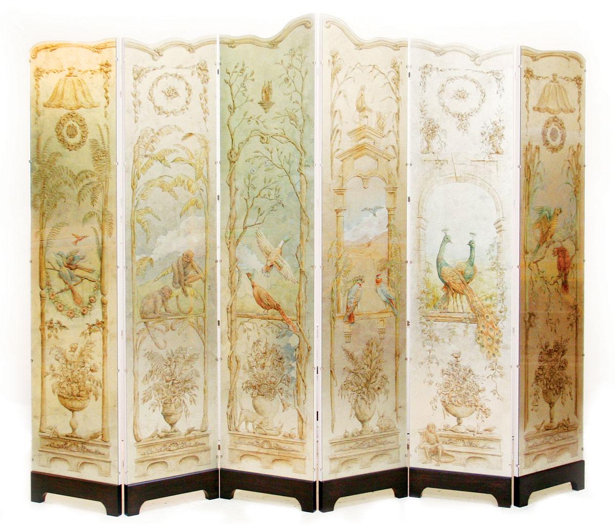 chinoiserie panel by Gorman Studios