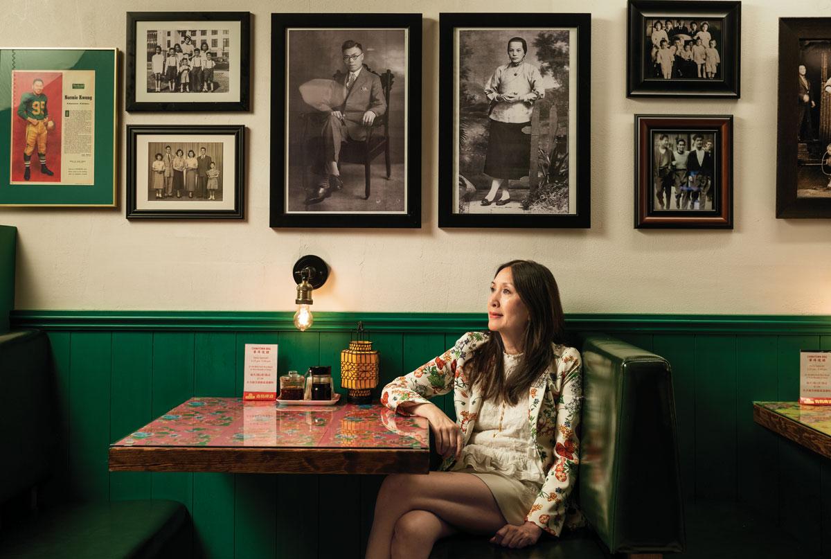 Entrepreneur Carol Lee in her restaurant in Vancouver's Chinatown.