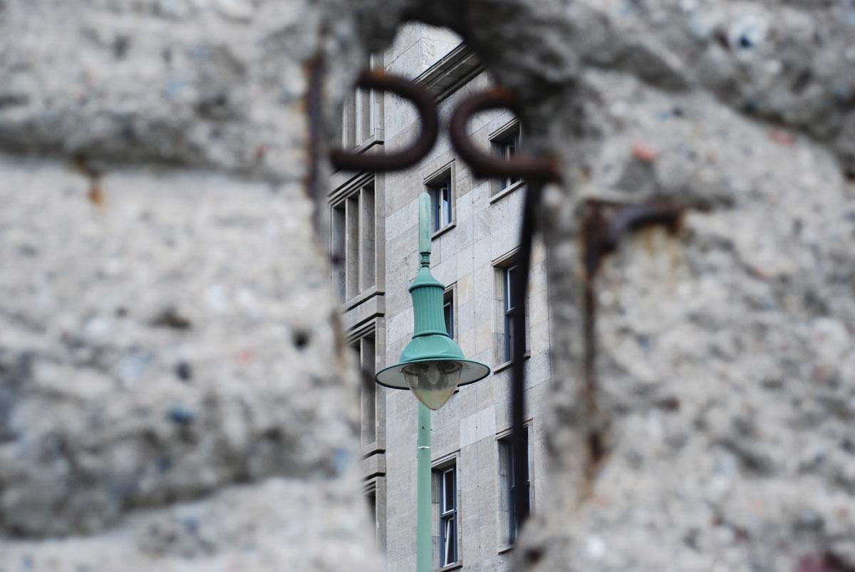 Fallen Berlin Wall