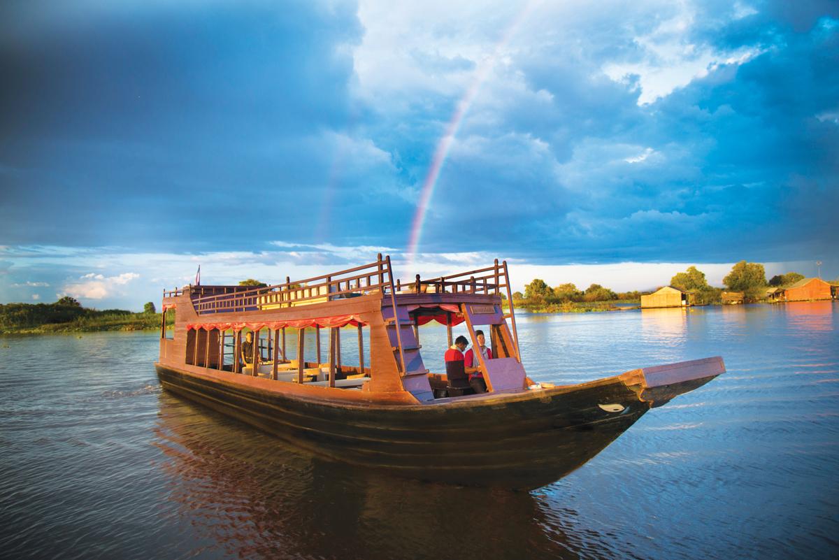 Amansara,-Cambodia-–-Boat