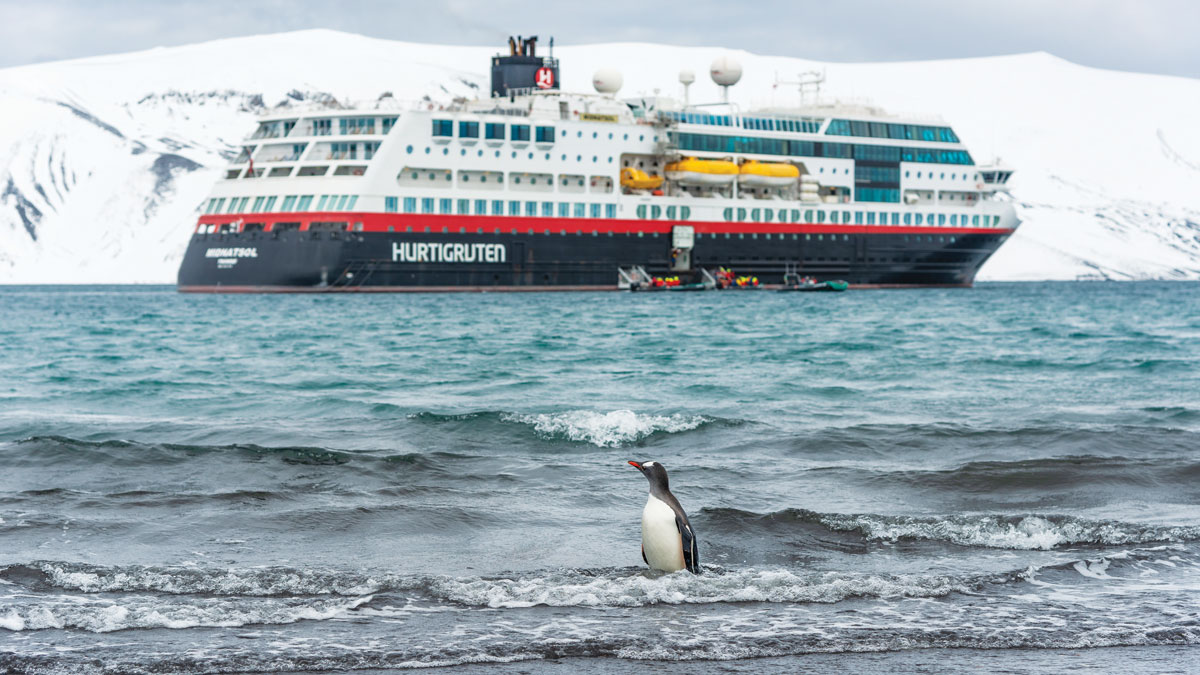 _Antarctica-DeceptionIsland--penguin,CruiseShip