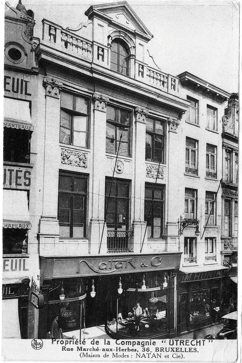 The Paul Natan couture house that Vermeulen bought and rebranded as Natan. A nostalgic man, he's kept the property as Natan's headquarters