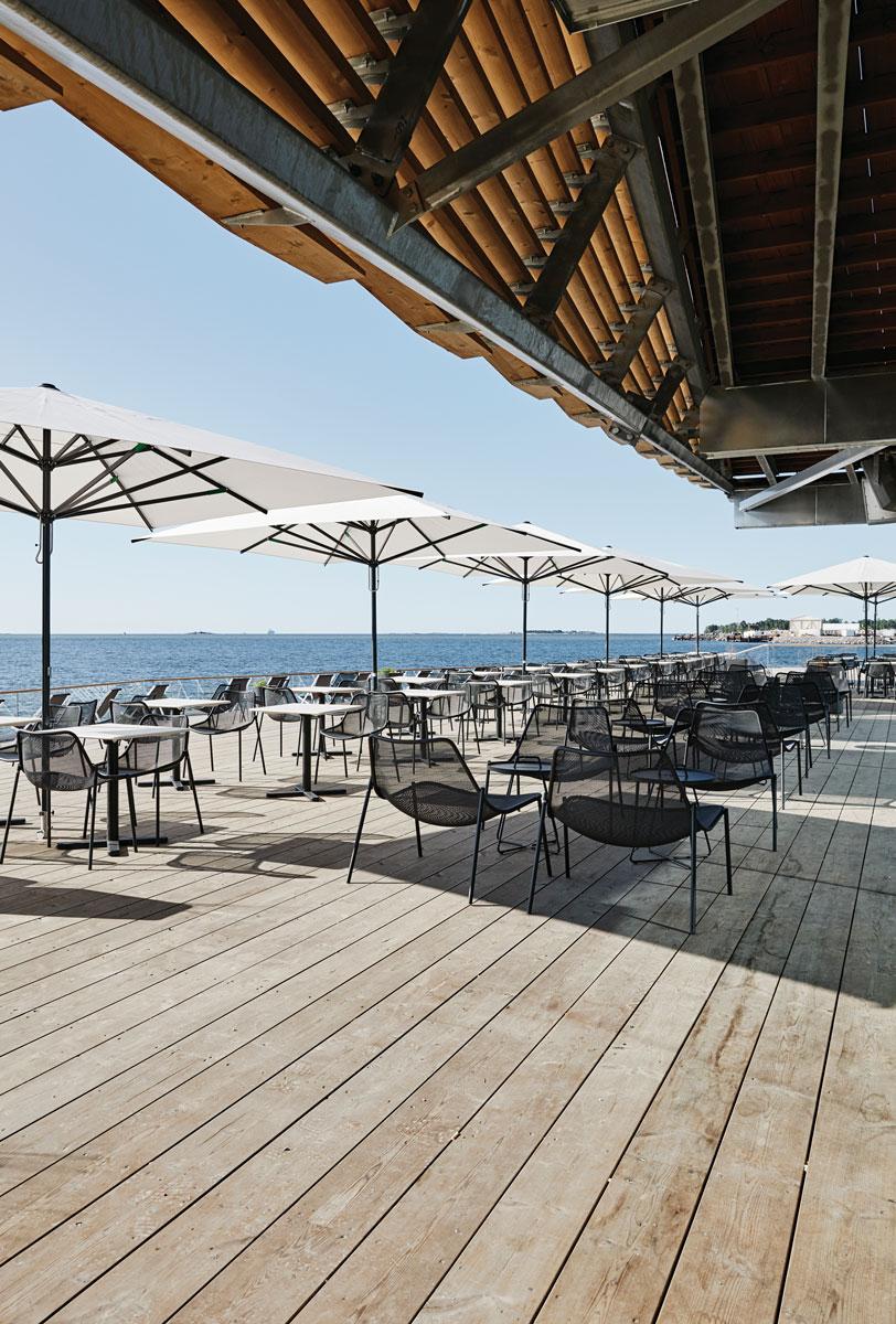 Investors Jasper Pääkkönen and Antero Vartia believed a fun restaurant could help keep the sauna afloat