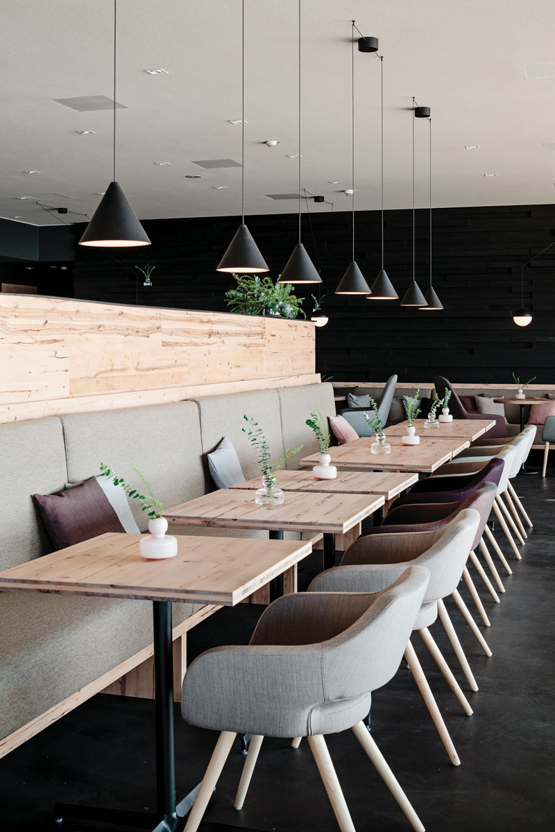 Finnish Sauna Löyly's restaurant