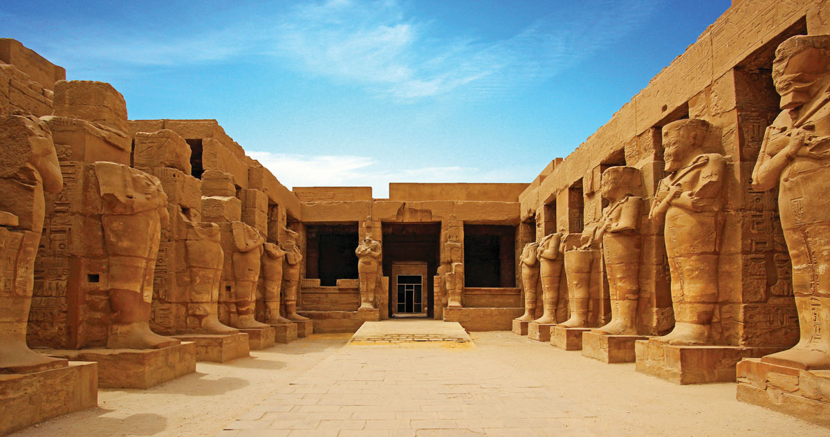 "The Temple of Karnak was known as Ipet-isu to the ancient Egyptians, meaning ""most special place."""