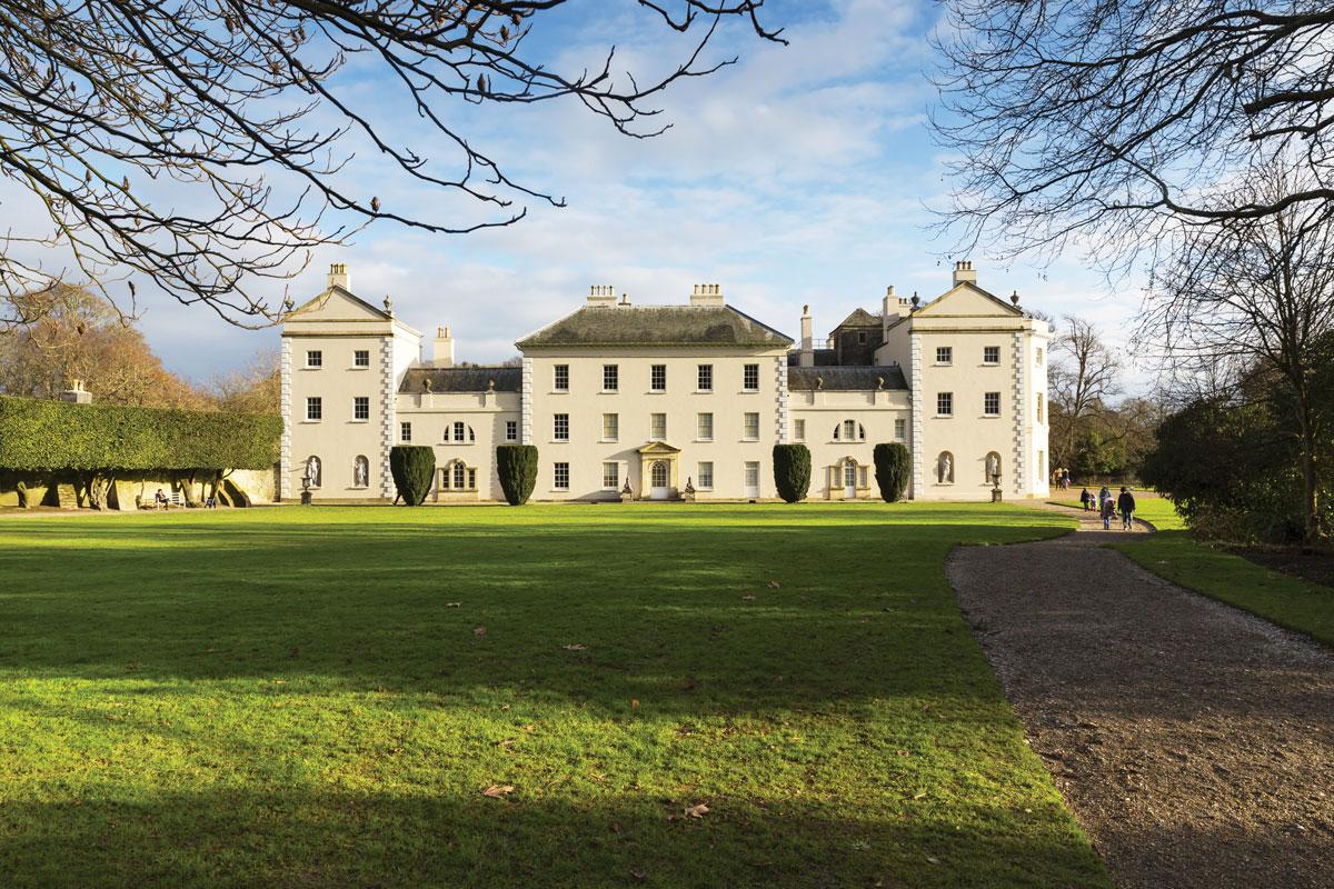 Saltram House, from the King George II era.