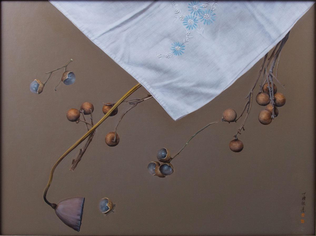 zhangliang_Chinese-realist-painter_the-fresh-breeze-plucks-longan