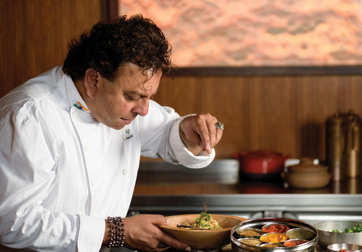 Chef Vikram Vij_My Shanti_Mian Bawarchi_Rangoli Railway_Food Network_Top Chef Canada_Chopped Canada