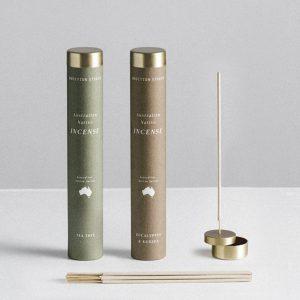 ADDITIONAL STUDIO Australian Native Incense Burner Set
