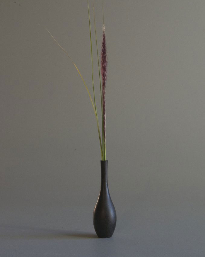 NOUSAKU SORORI VASE BLACKISH BROWN