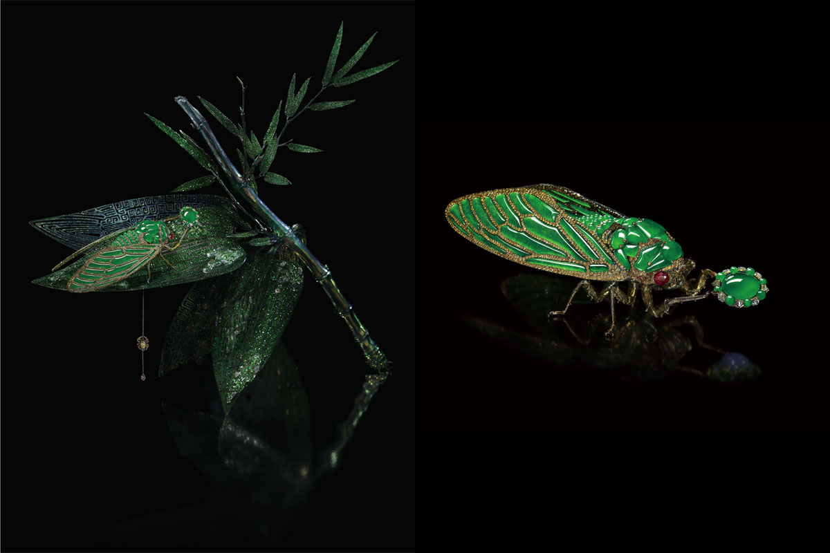 Brooch by Wallace Chan