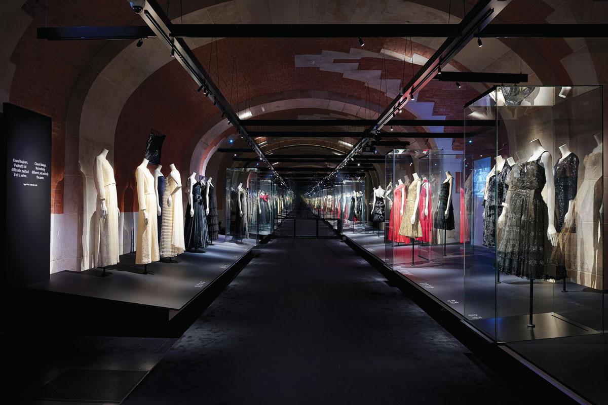 A Fashion Manifesto exhibit of Gabrielle Chanel designs