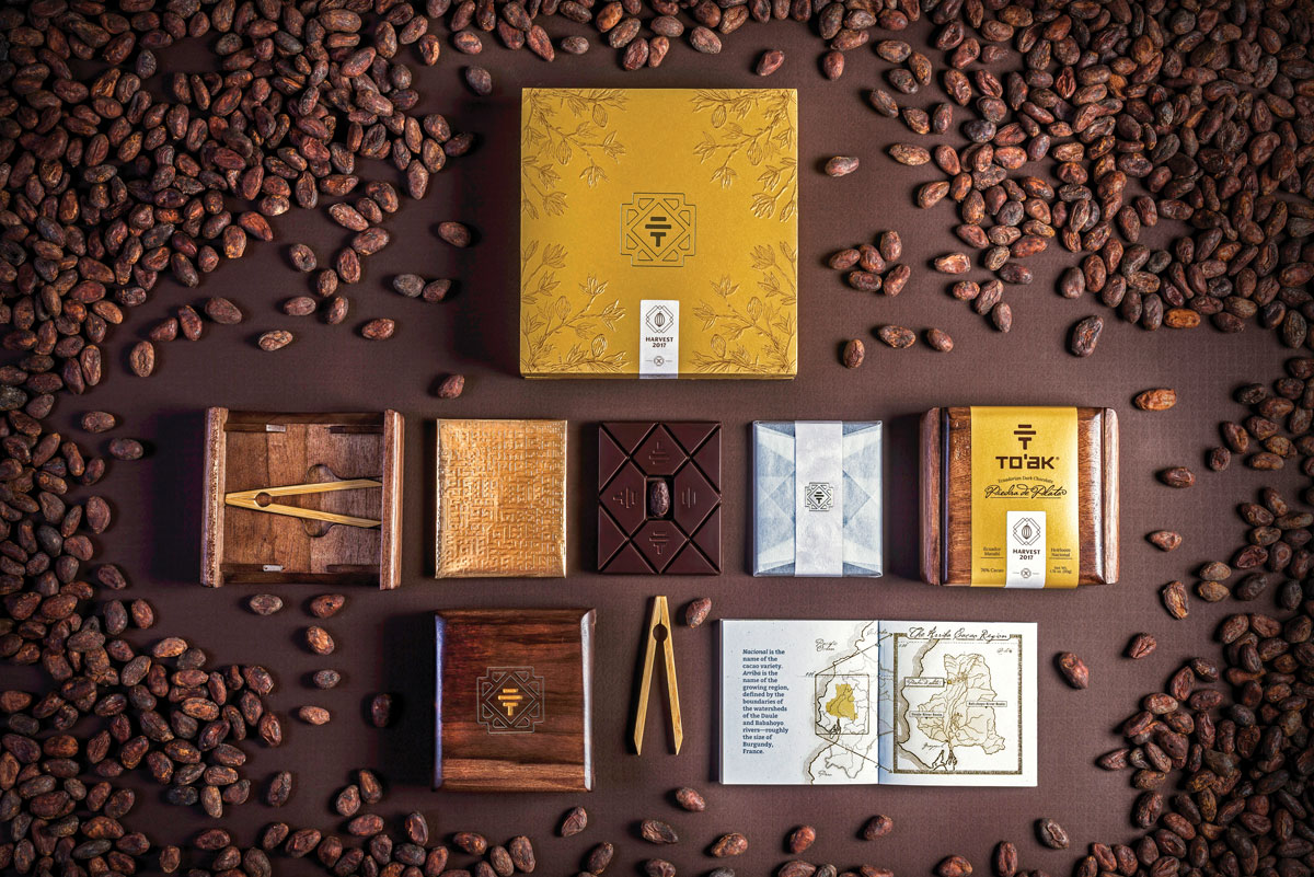 artisanal chocolate from heirloom cacao