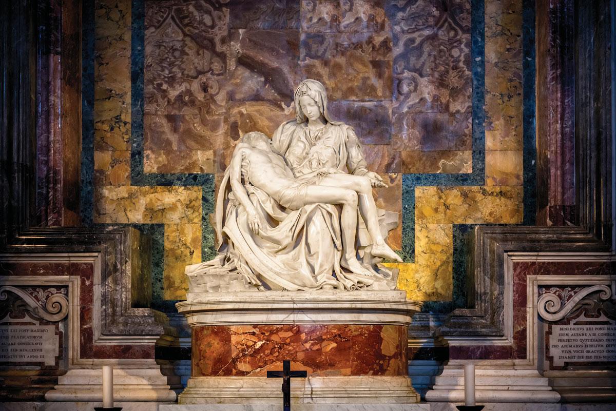 Michelangelo's La Pietà