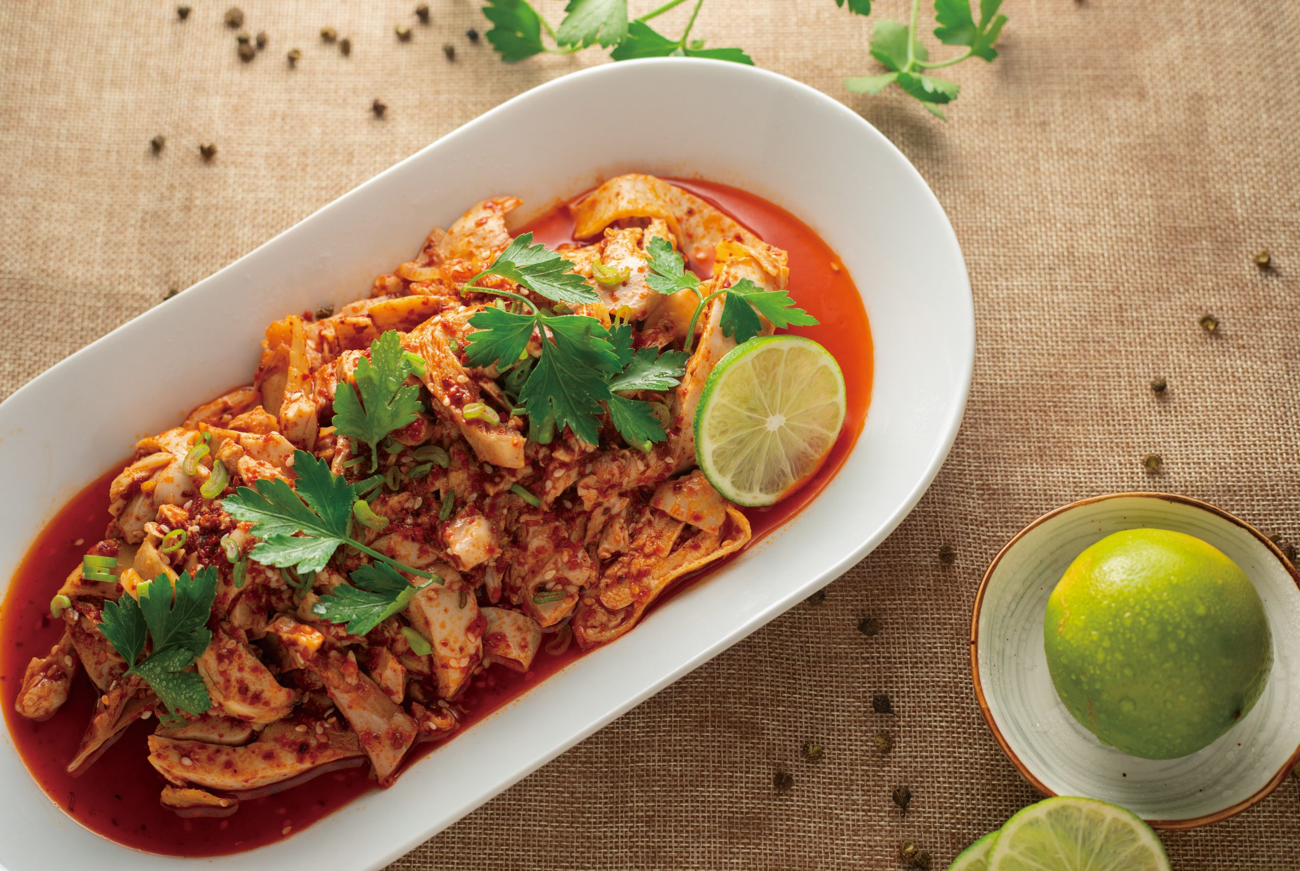 recipes inspired by 14th solar term - Rattan Peppercorn and Red Chili Chicken