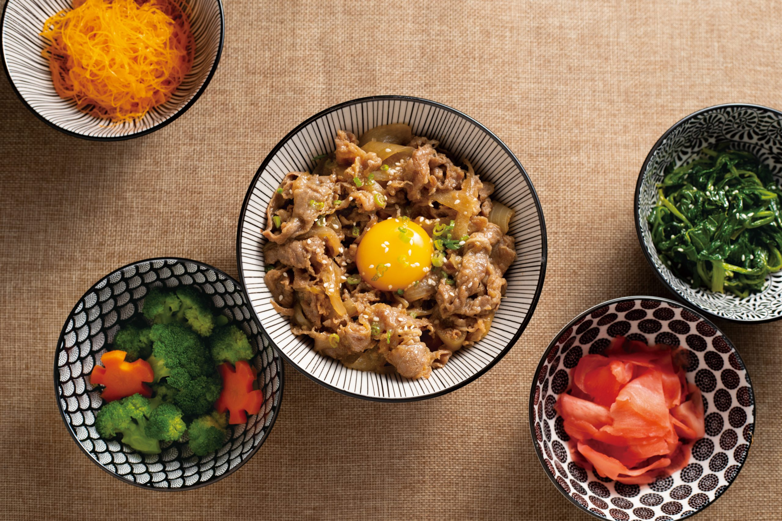 Recipes inspired by 13th solar term - Tricolour Beef Bowl