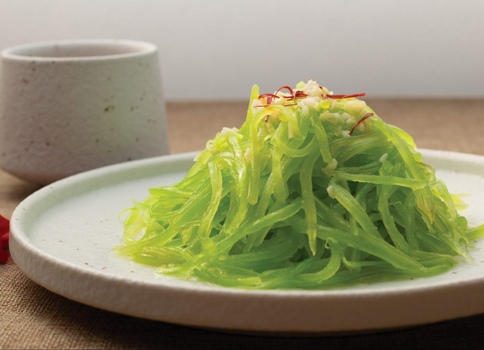 Recipes inspired by 11t solar term - Blanched Celtuce
