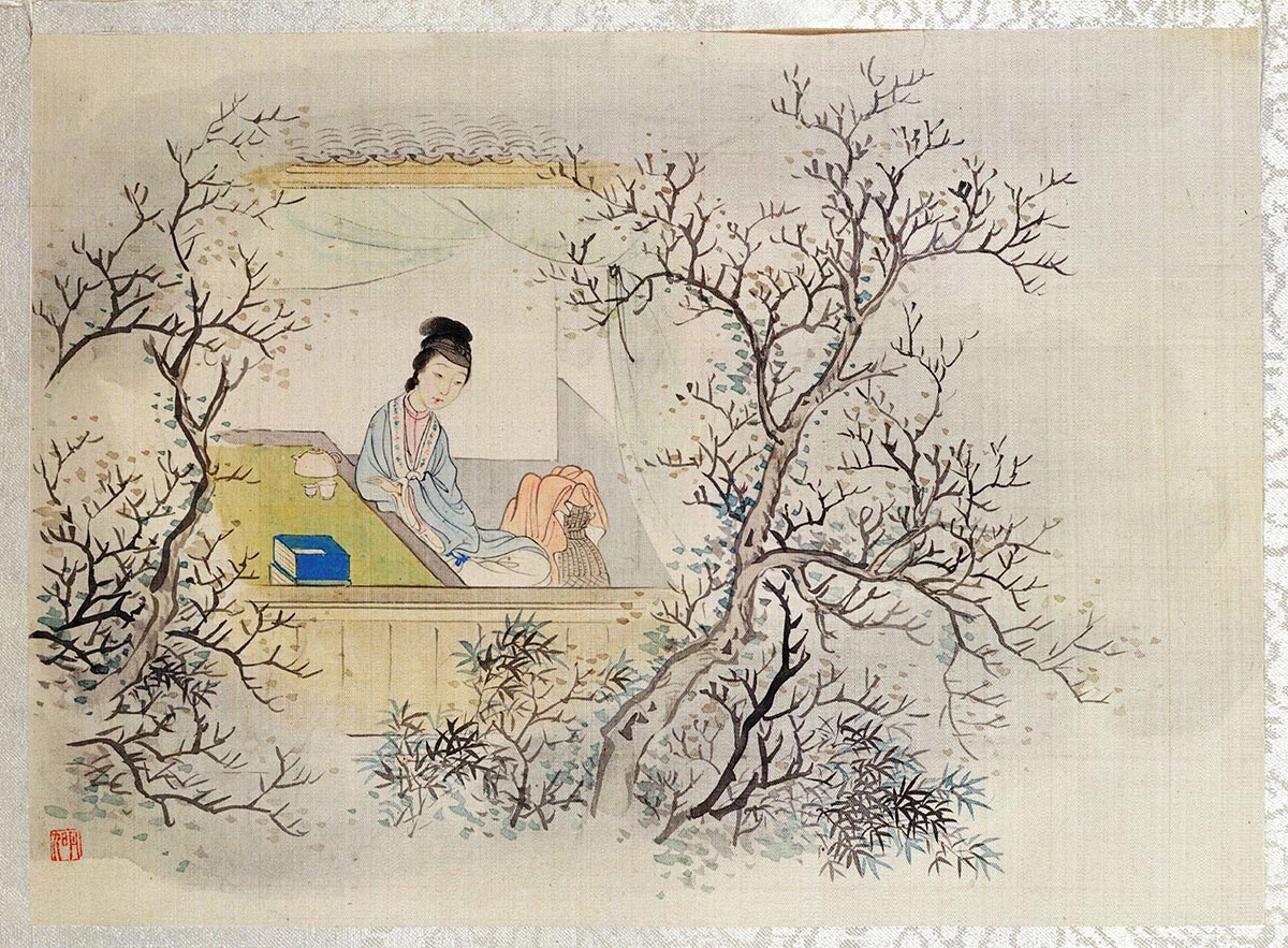 """""""Twelve Beauties of Jinling"""" from the classic Chinese novel """"Dream of the Red Chamber."""""""