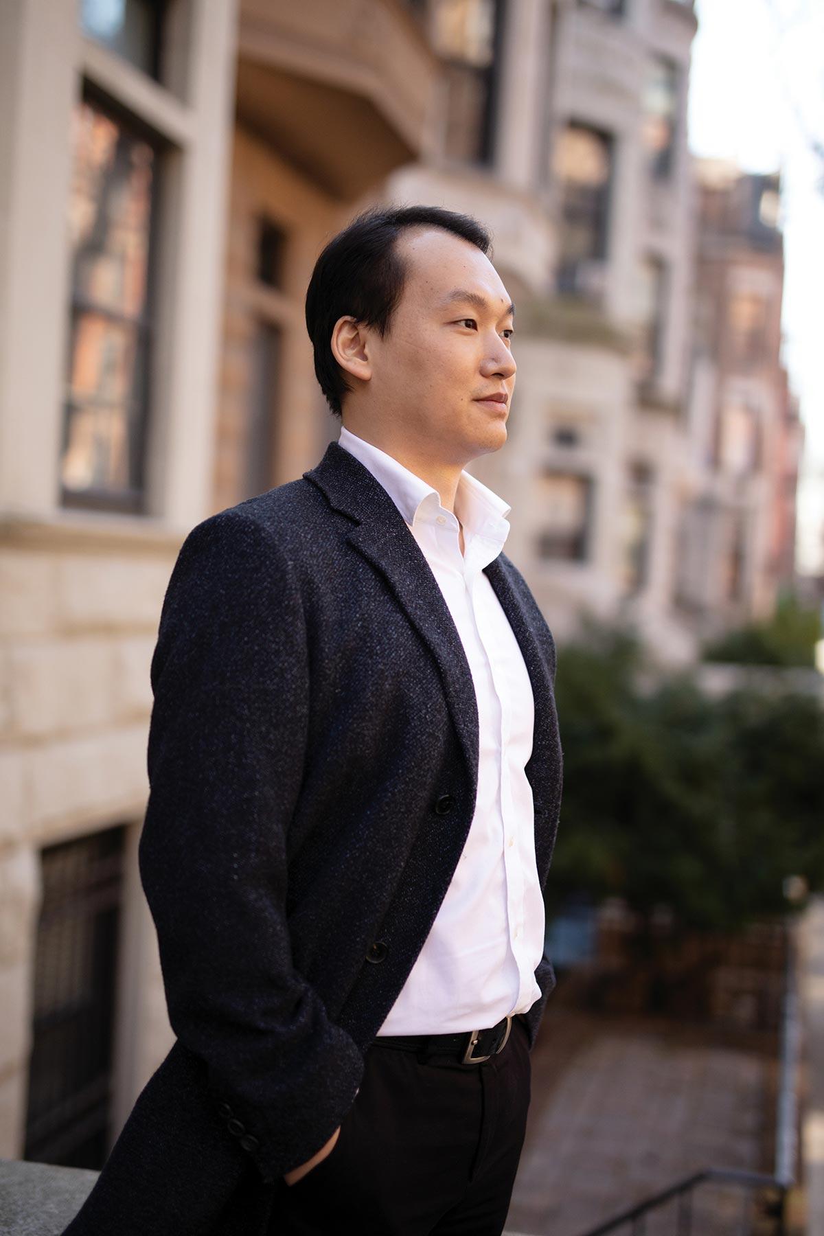 Classical composer Joseph Ma